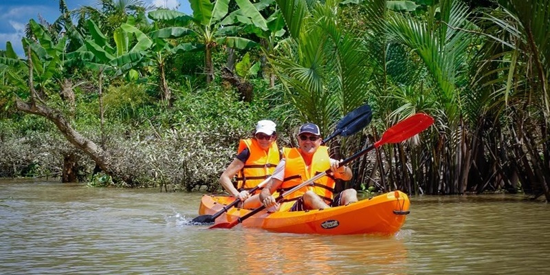 MEKONG DELTA ADVENTURE DAY TOUR WITH KAYAKING